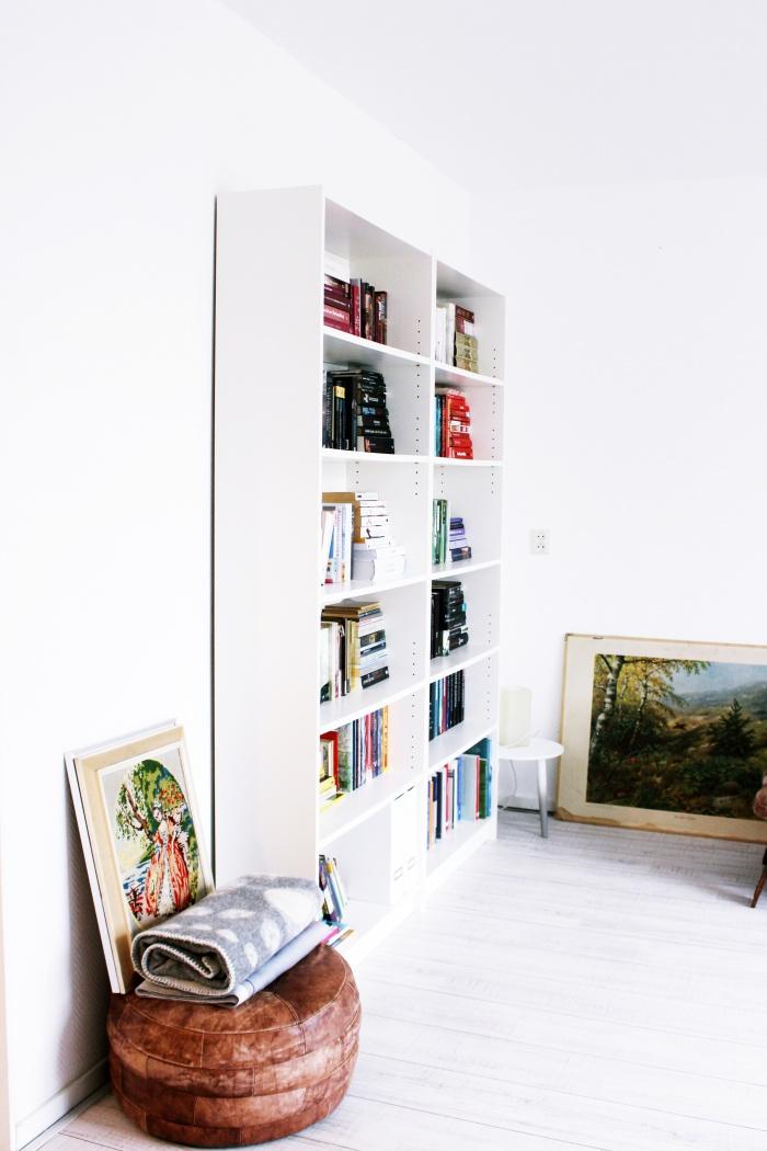 Home bibliotheek in huis - Muur bibliotheek ...